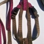Titan No Pull Harness - Coyote, and Rose Pink